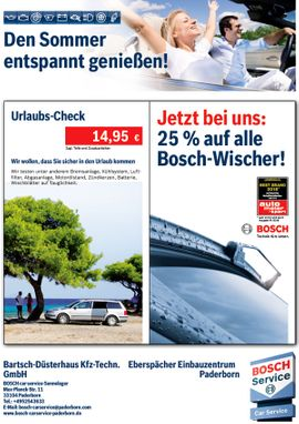 Bosch Car Service Mai 2018 - Cover